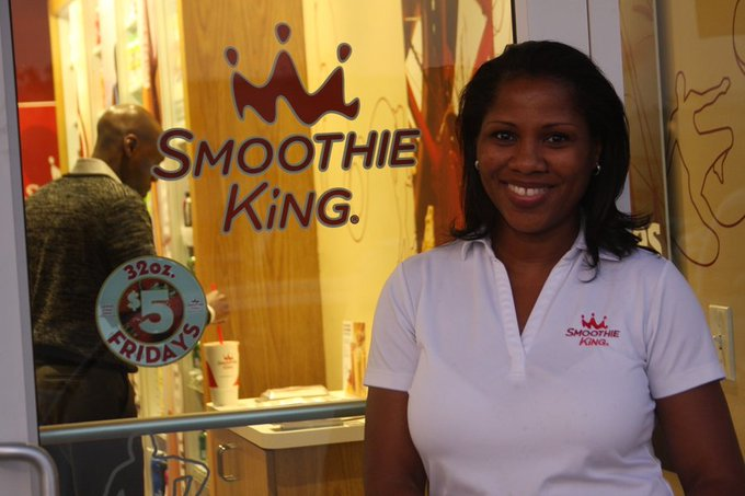 Meet Tonya Brigham, owner of one of the top 'Smoothie King' franchise stores in her region: https://t.co/sJEHYKA9qx