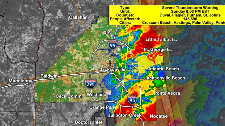 update tornado warning for st johns county extended to 8pm seek shelter in world golf village scoopnestcom