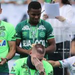 Tears at first game for Brazil plane crash team