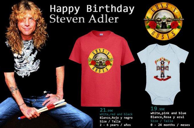 Happy Birthday .! Steven Adler