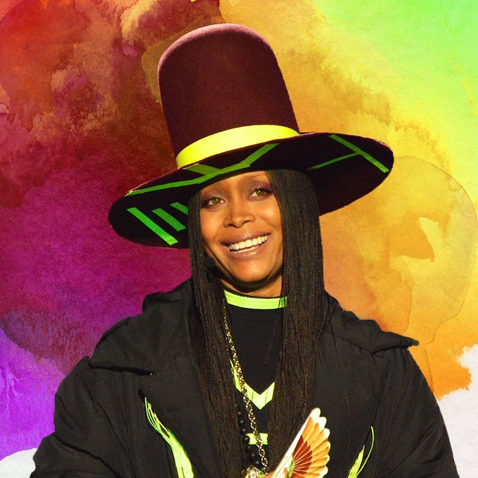 Erykah Badu painted her hair and the results are *everything*: https://t.co/rrk0TA6zK8