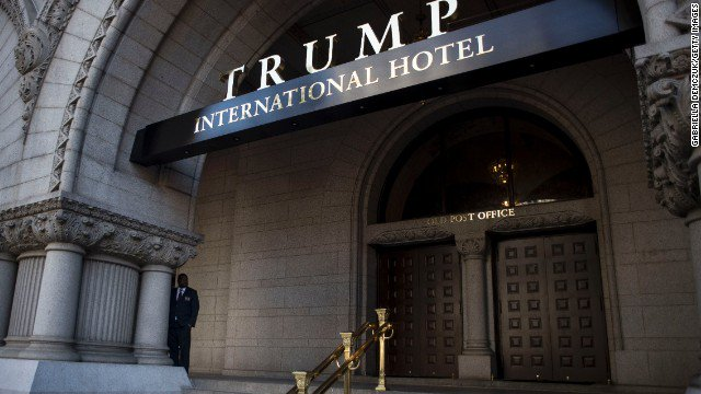 Ethics group says Trump violates Constitution by accepting payments from foreign governments through his businesses. https://t.co/t2jKn9eHH7