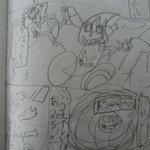 カミワザワンダの漫画を模写したりもし勉強を重ね