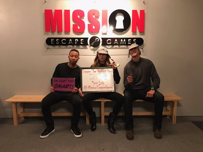 @chrissyteigen: Help we can't stop doing escape rooms https://t.co/LsBrq7QtAd