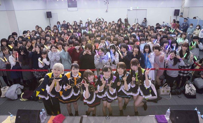 i☆Ris、14thシングル「Shining Star」リリースイベントレポートが到着! メンバーデザインの新衣装も初公