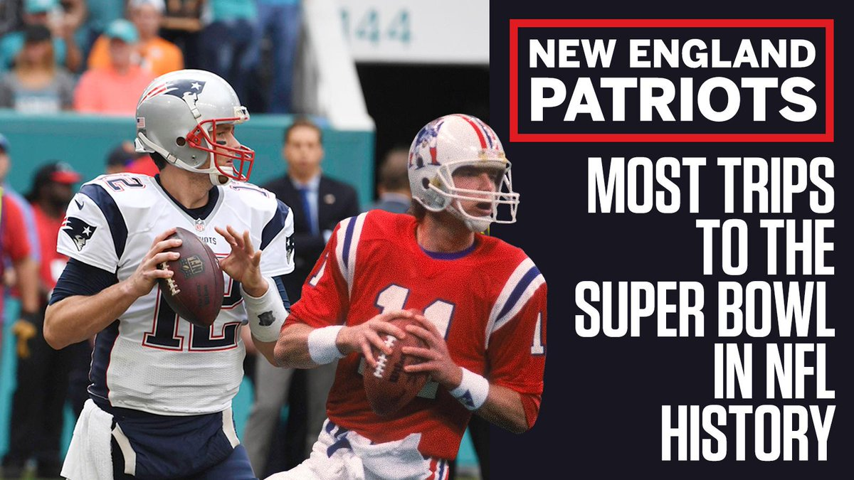 Relentless.  This is the Patriots' NINTH appearance on football's biggest stage.