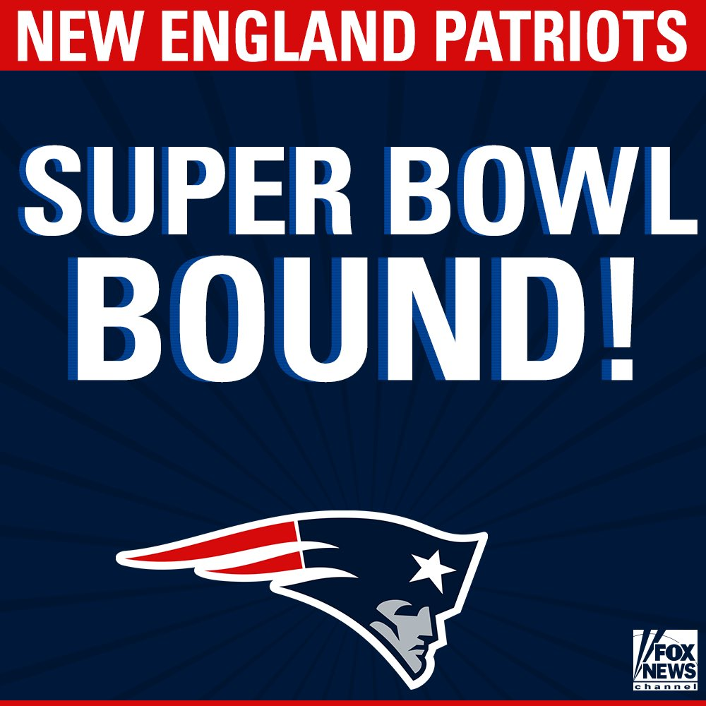 Congratulations to the AFC champions - @Patriots!