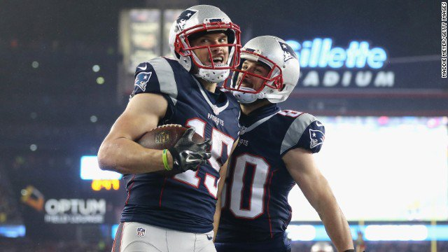 New England Patriots beat Pittsburgh Steelers 36 - 17 in AFC Championship, will face Atlanta Falcons in Super Bowl. https://t.co/uWBuAlQmFa