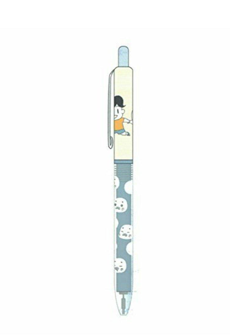 ↓詳細『少年アシベGO!GO!ゴマちゃんシャープペン/ボールペン』(各2種)シャープペンは HBの0.5mmボールペンは