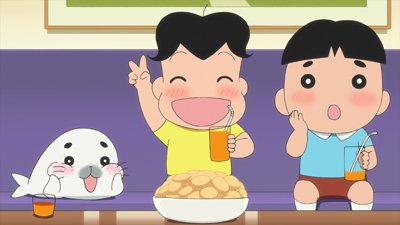 『少年アシベGO!GO!ゴマちゃん』Eテレ 1/24(火) 18:45放送のゴマちゃんは第22話「ゆうまくんちのヒミツ」