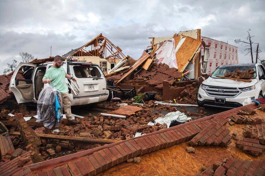 Tornados und schwere Stürme: Mehrere Totebei Unwettern in den USA https://t.co/9OxEWfqusl