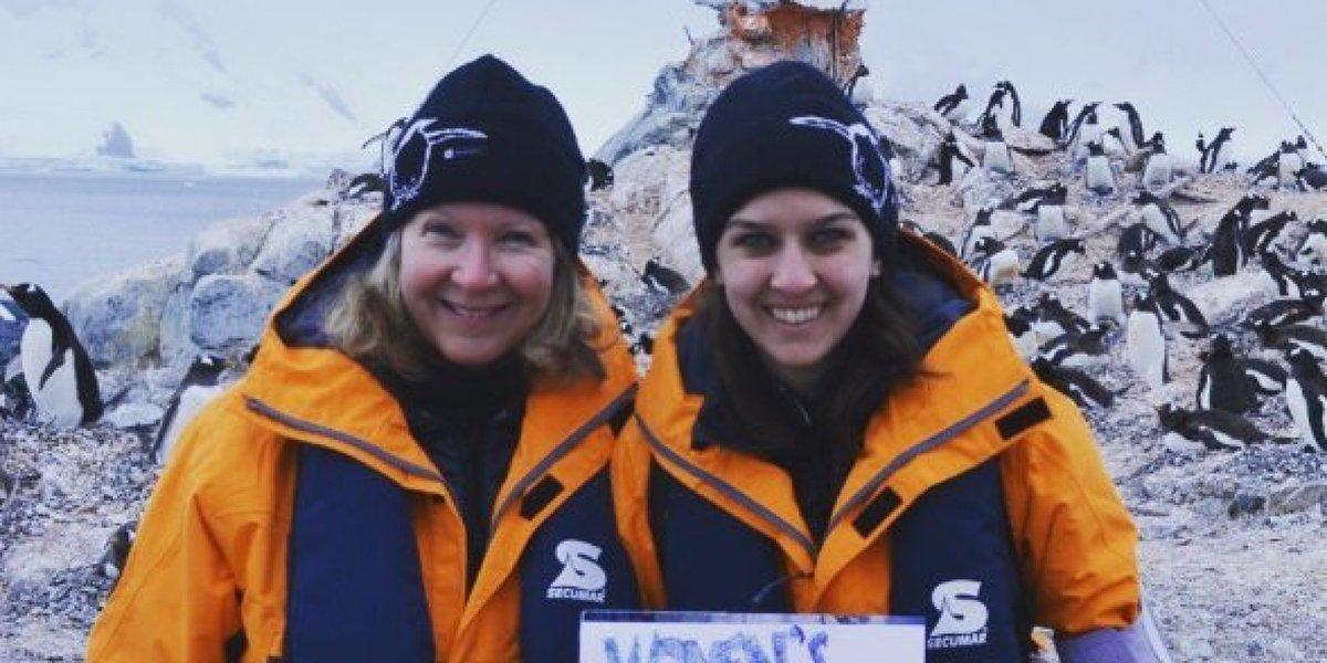 남극에서도 '여성들의 행진'이 열렸다 https://t.co/0MrF3uF8Fi