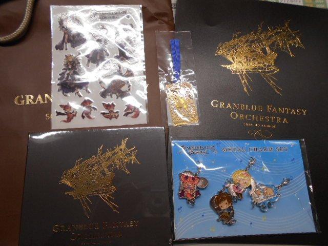 "【Cygames祭】「グランブルーファンタジー オーケストラ」""SORA NO KANADEオフィシャルグッズセット""&"