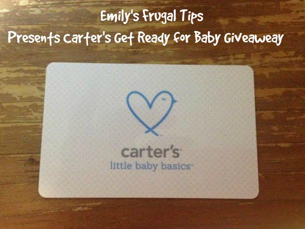 Enter To Win a $100 Carter's Gift Card