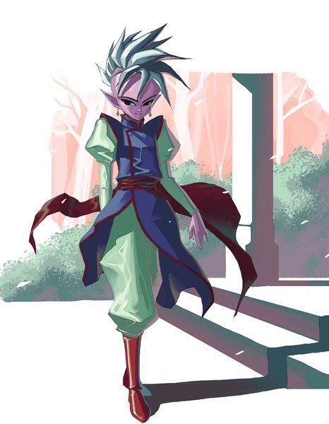 ドラゴンボールに登場する東の界王神様の身長158cmらしい…?