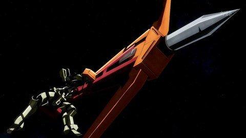 【鉄血 40話】ダインスレイヴは 「レアアロイ弾とレールガンをセットで使うと条約違反」なのでフラウロスのはセーフ、イオク