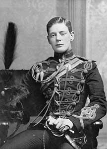 最近衝撃を受けた事実のひとつに、「大英帝国・ジョンブル魂の権化」ウィンストン・チャーチル首相の若き日のイケメンぶりがあり