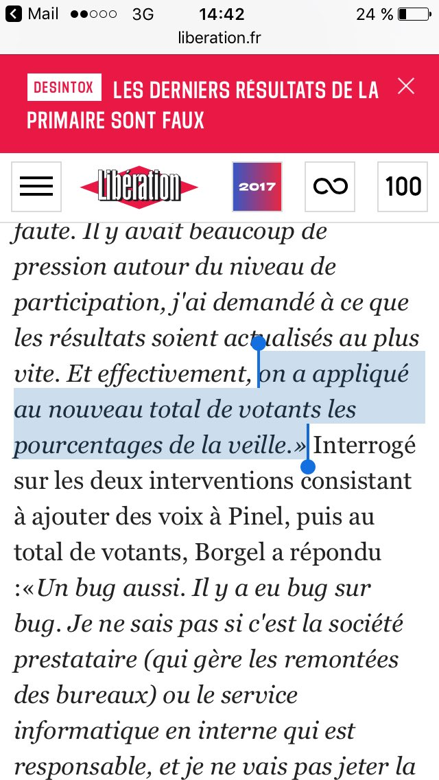 Primaire du PS: l'incroyable aveu de @chborgel #LaHonte https://t.co/E4BgDMCKdl