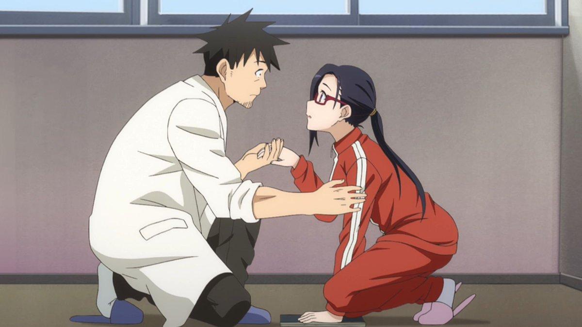 亜人ちゃんは語りたいすき~♪てかめっちゃ先生いい(//∇//)ふたりともすき!!!笑ひかりちゃんが照れてるとこもかわいか