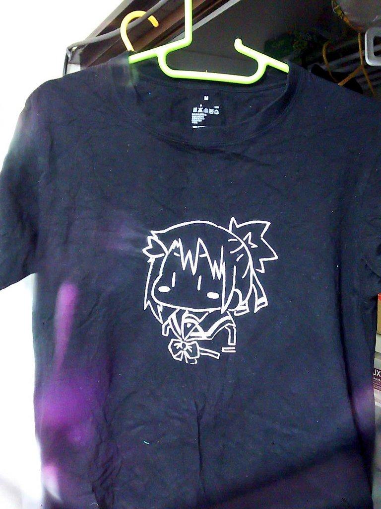 友奈さんTシャツ、今度は成功しましたよ!#yuyuyu