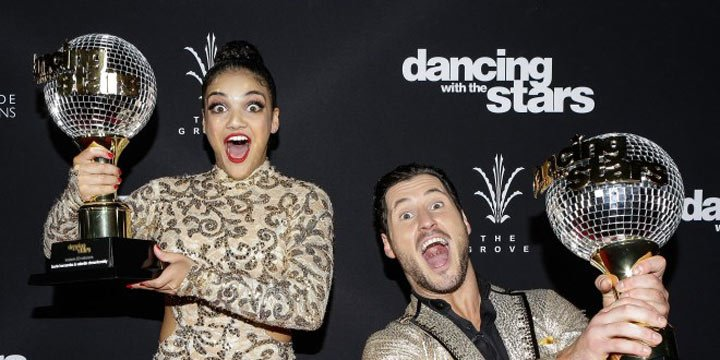 DWTS' Laurie Hernandez approves of Val Chmerkovskiy and Amber Rose's relationship