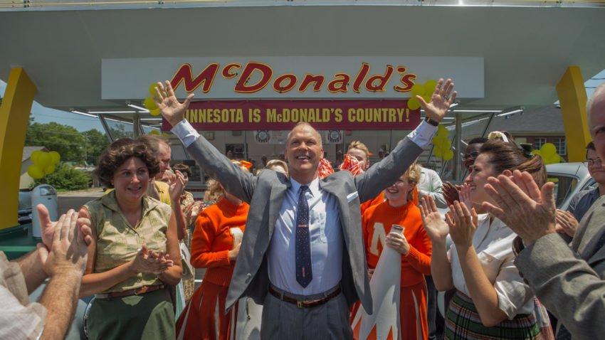 Grandson of McDonald's founder sees film on restaurant chain