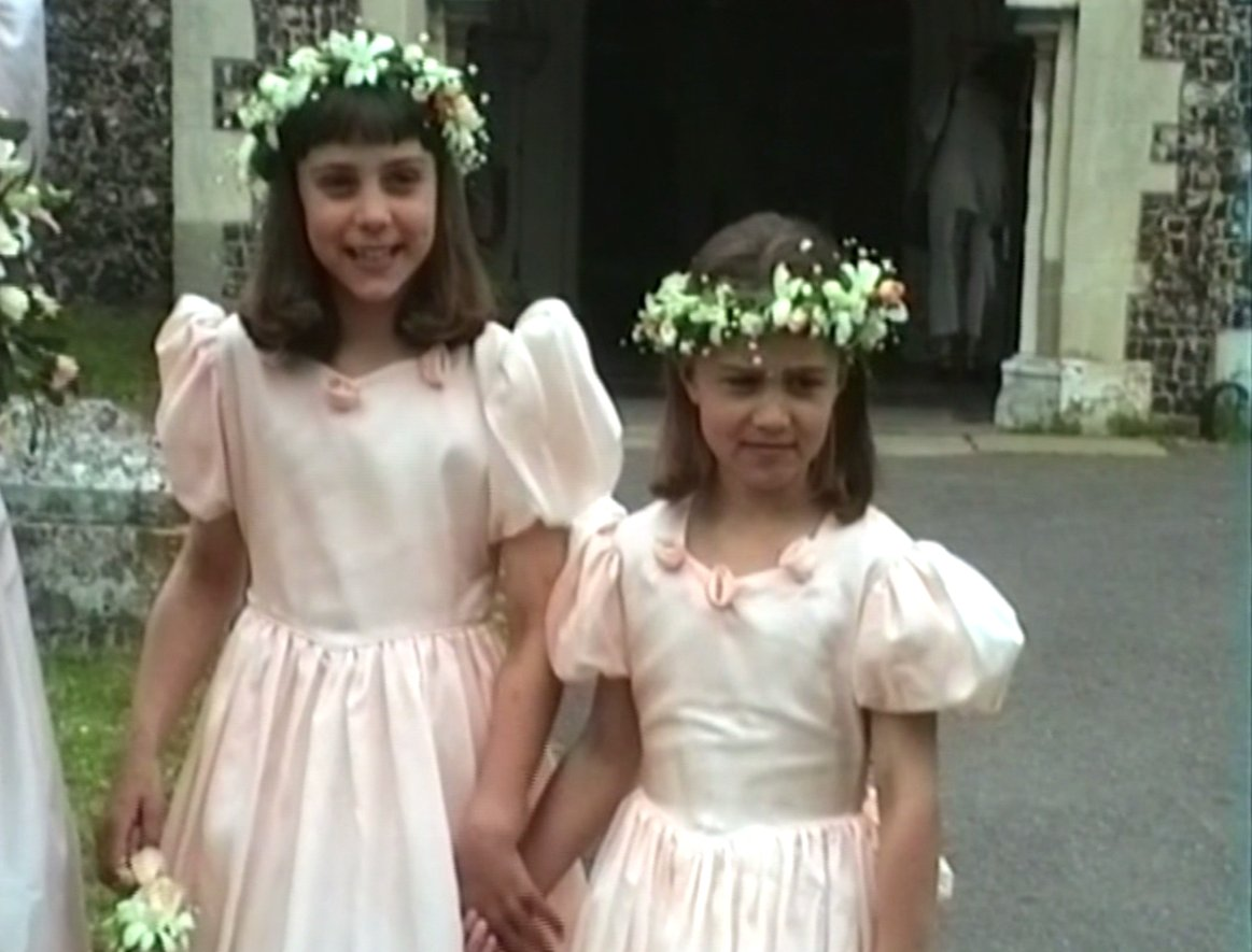 The year was 1991. Kate Middleton and Pippa Middleton were the cutest kid bridesmaids ever: