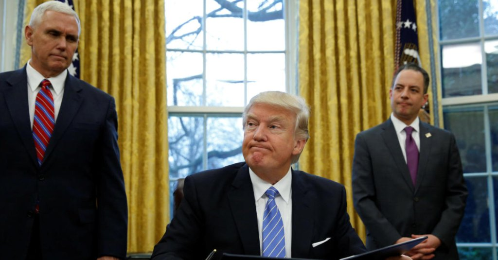 What is the Mexico City Policy, reinstated by Donald Trump on Monday?