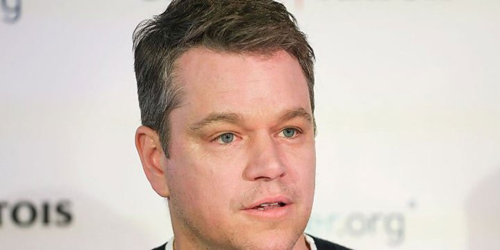 Matt Damon reveals he's ready to pitch President Trump his clean water initiative
