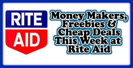 All The Money Makers, Freebies & Cheap Deals  Rite Aid|riteaid freebiesmoneysavingmom