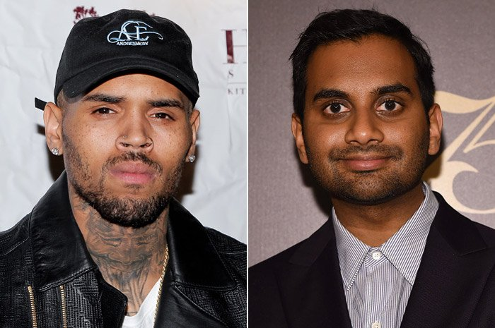 "Chris Brown fires back at Aziz Ansari for comparing him to Donald Trump: ""Tell Aladdin hop off my d*ck!"" https://t.co/kumXntv050"