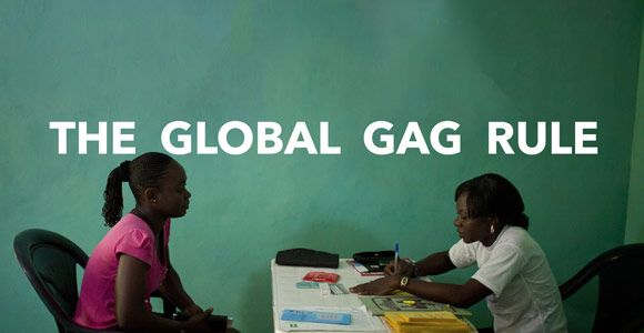 Trump moved to restrict access to #reprohealth care globally as one of his first acts in office: https://t.co/OUmuUIw6sH #GlobalGag