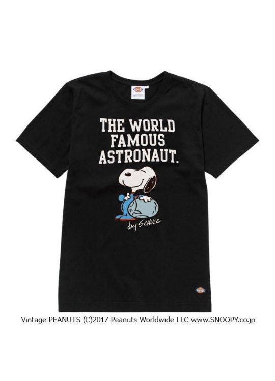 【Dickies】 スヌーピー/プリントTシャツ/PEANUTS -  #CHARADINATE #キャラディネート #