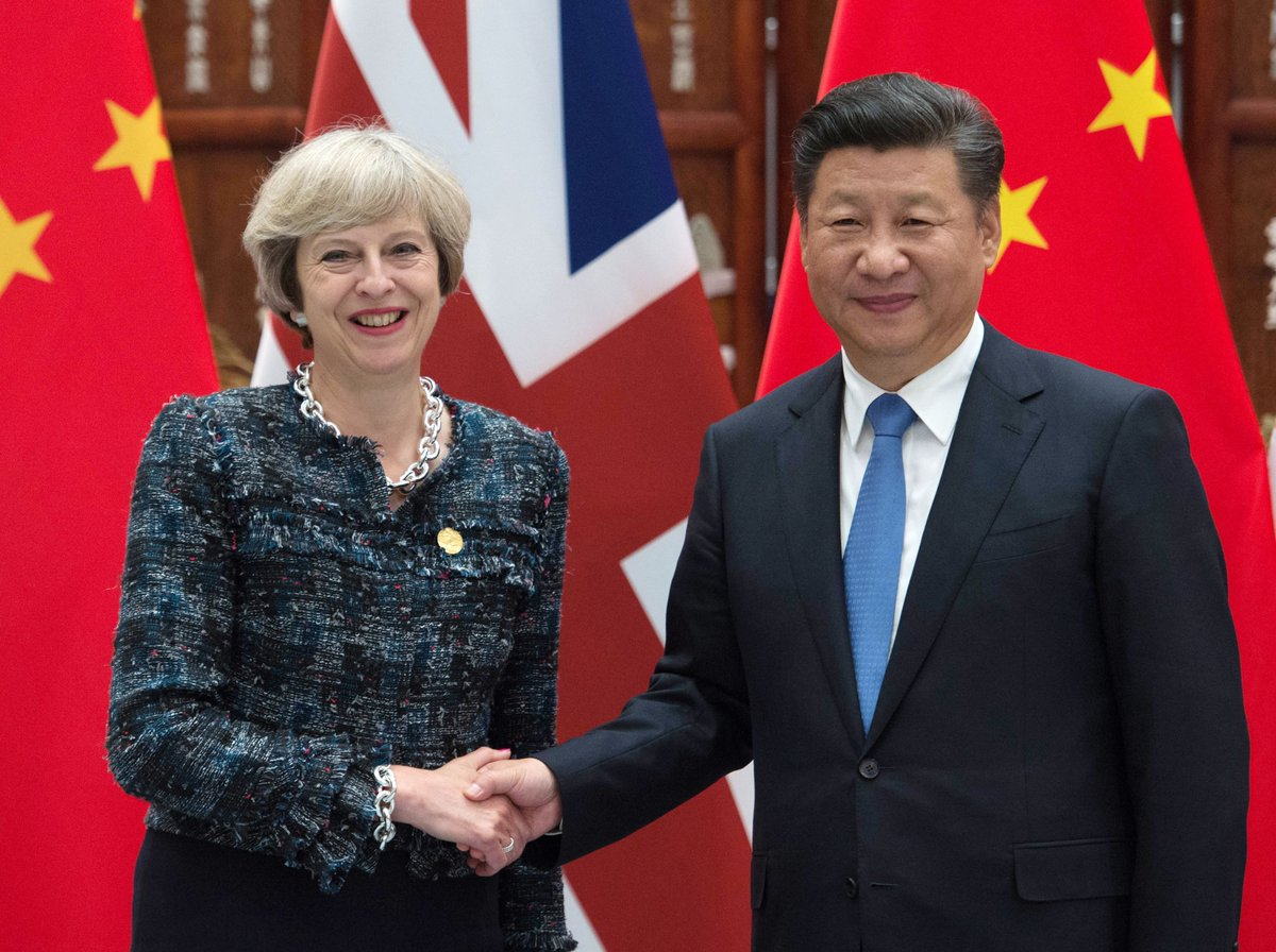 Theresa May to visit China 'relatively soon' - report https://t.co/mPSvx6fEI7 https://t.co/1AGGAHOybA