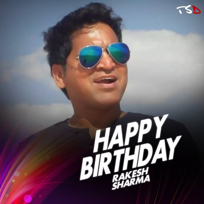 Wishing Mr Rakesh Sharma a very happy birthday! Have a blessed year.