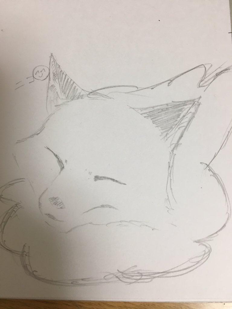 不機嫌なモノノケ庵のヤヒコ。アニメ化される前から好きだったのに描いたの初めて。#不機嫌なモノノケ庵
