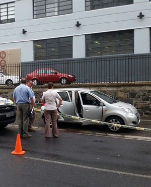 Woman shot, robbed in car in Cape Town CBD