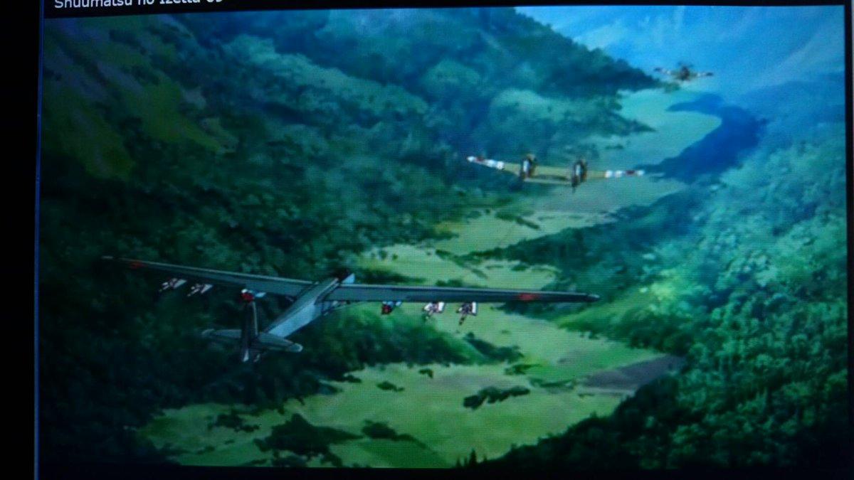 終末のイゼッタに出てたツインマスタングみたいな機体は結局何だったんだろう? #終末のイゼッタ