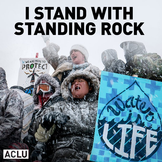 We stand with Standing Rock. #NoDAPL