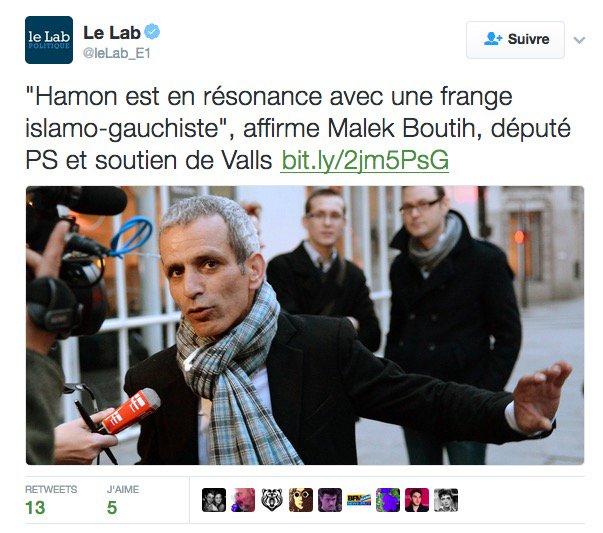 Je crois que l'on peut dire que la campagne de Valls est bien dégueu — et totalement désespérée, aussi.