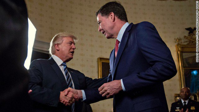 President Trump asks James Comey to stay on as FBI director, law enforcement source says. https://t.co/xhjZEtNyaf