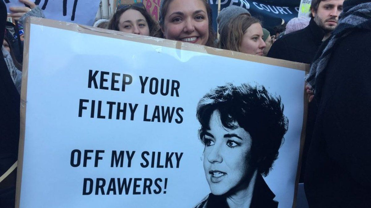 The best and most badass signs from the Worldwide Women's March https://t.co/KEpzG41JjX