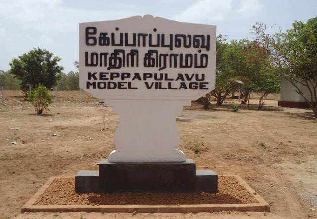 Ahead scheduled visit of @MaithripalaS today/25, 59 Div  in Mullaithivu warned Keppapilavu residents not to stage protests or any agitations https://t.co/8EWagv9sUX