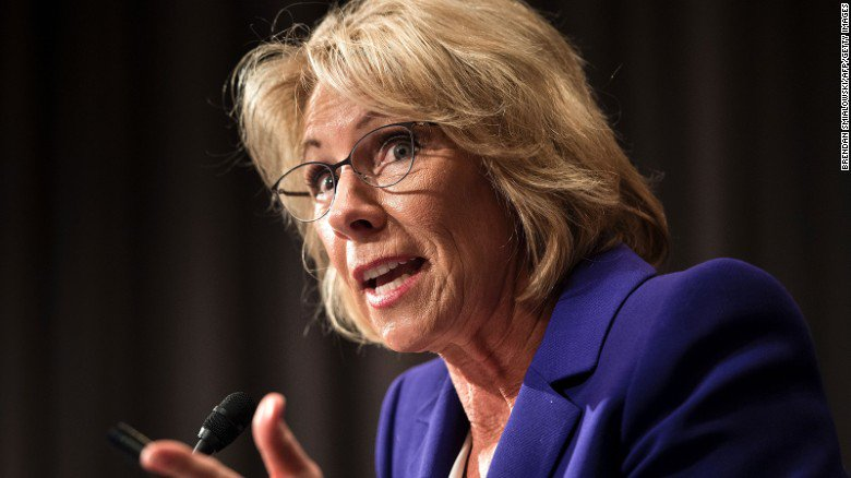 Democrats won't get a second hearing with Donald Trump's education pick Betsy DeVos