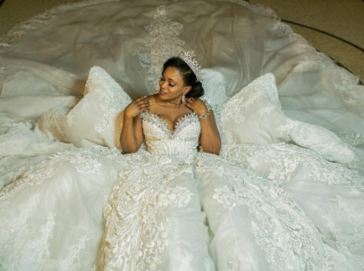 There are no rules or limits when it comes to how grand your wedding gown can or should be: https://t.co/LPTIY9kuaX