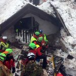 Hopes fading for hotel avalanche survivors as death toll climbs to 17