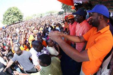 Raila warns Jubilee on Governor Joho's life and August elections