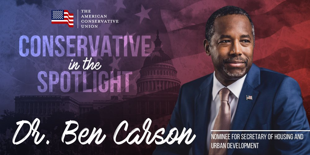 """(1/2) @mschlapp: """"@RealBenCarson will bring his impressive intellect & common sense solutions to… https://t.co/rP3fsz8ExE"""