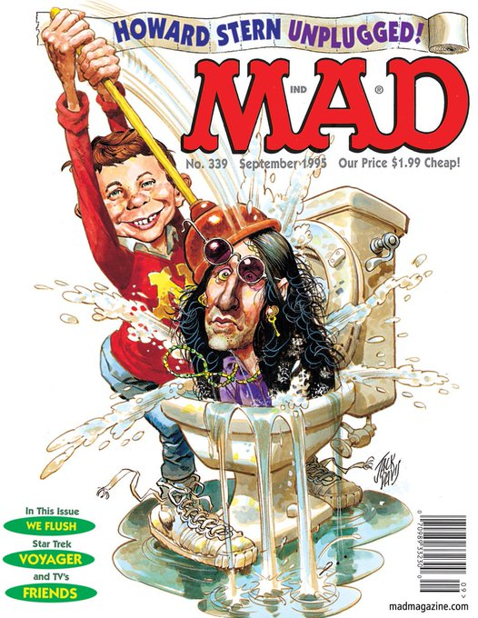 Classic MAD Dept. HAPPY BIRTHDAY, HOWARD STERN!