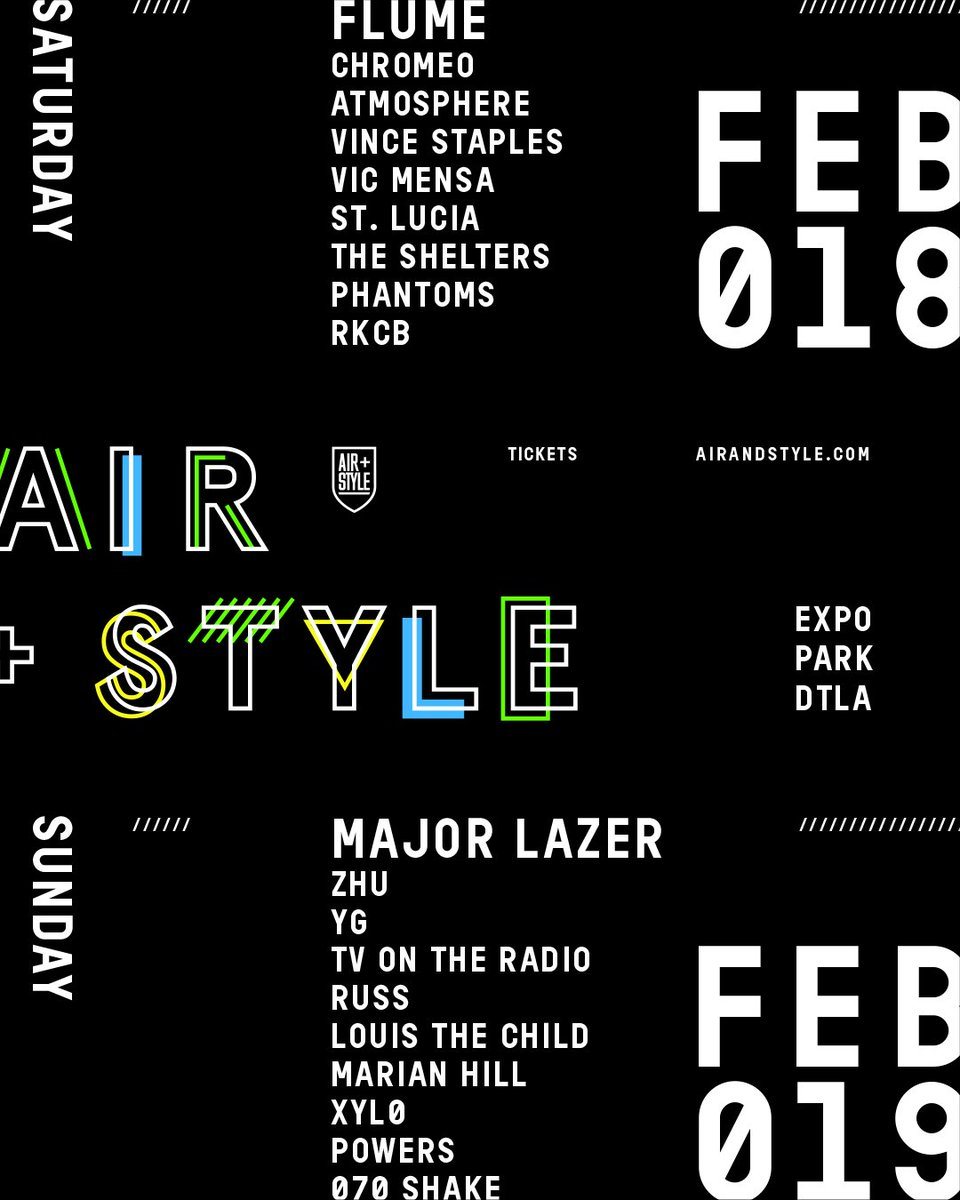 Air + Style returns to LA next month—and we've got passes to give away. RT for a chance to win a pair! https://t.co/OXzJGGiFrh